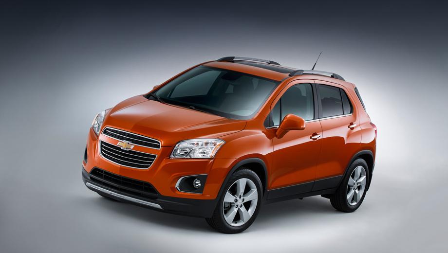 Chevrolet tracker,Chevrolet trax. Chevrolet Trax в спецификации для США дебютирует завтра в Нью-Йорке. Ранее представители GM говорили, что не хотят продавать Trax в Штатах из-за конкуренции с близнецом Buick Encore, а ещё  — отчасти с немного более крупной моделью Chevrolet Equinox. Но не удержались, как видим.