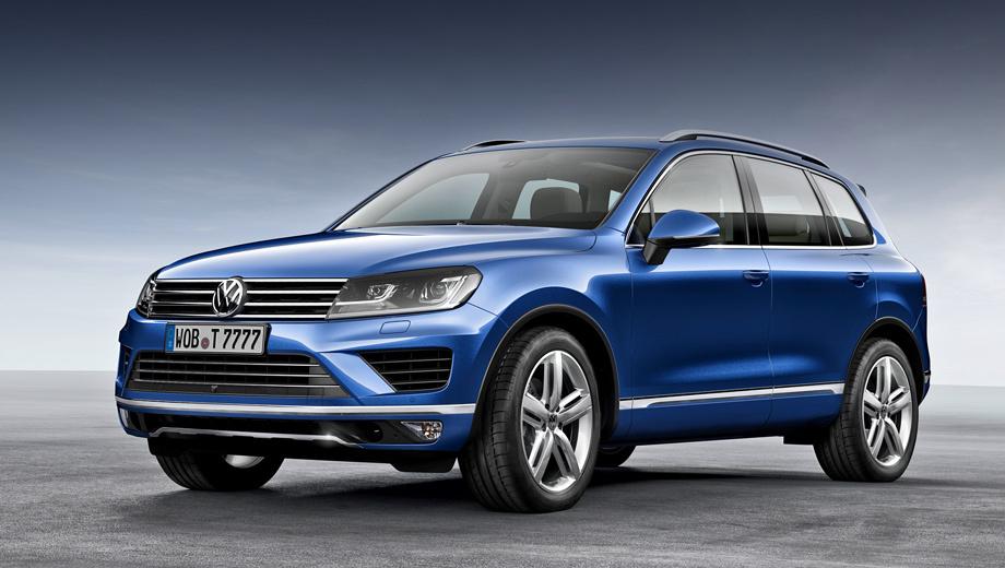 Volkswagen touareg. Биксеноновые фары головного света — стандартное оборудование для всех версий Туарега.