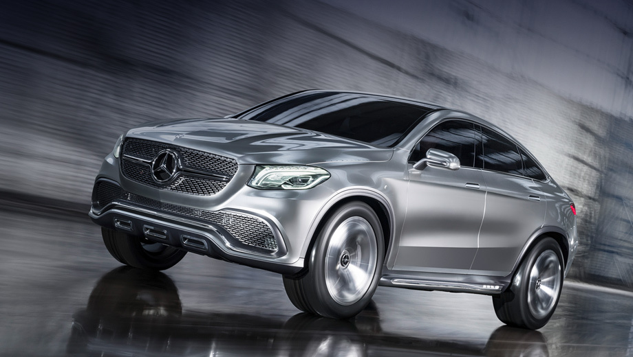 Mercedes ml,Mercedes mlc,Mercedes coupe suv. В оснащение автомобиля войдёт и система наклона кузова в повороте, представленная на купе Mercedes S-класса.