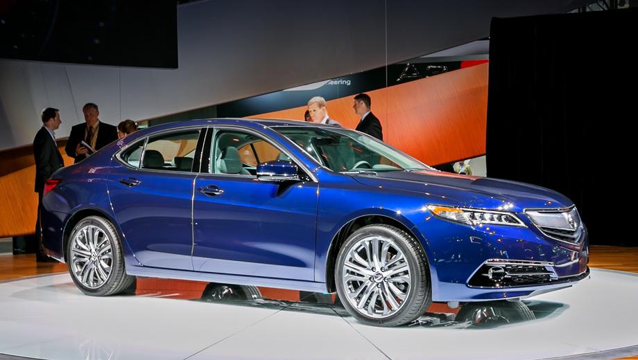 Acura tlx. Напомним, что модель TLX попадёт на российский рынок в конце нынешнего года. Вот почему нам так интересно разобраться, какой же автомобиль предлагают американским покупателям.