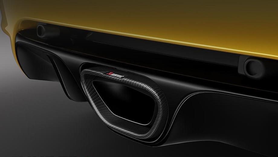 Renault megane,Renault megane rs,Renault megane rs trophy. Новая версия Мегана получит выхлопную систему Akrapovic с углепластиковым наконечником.