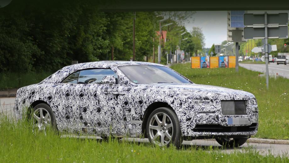 Кабриолет Rolls-Royce Wraith попадёт в серию через год — ДРАЙВ