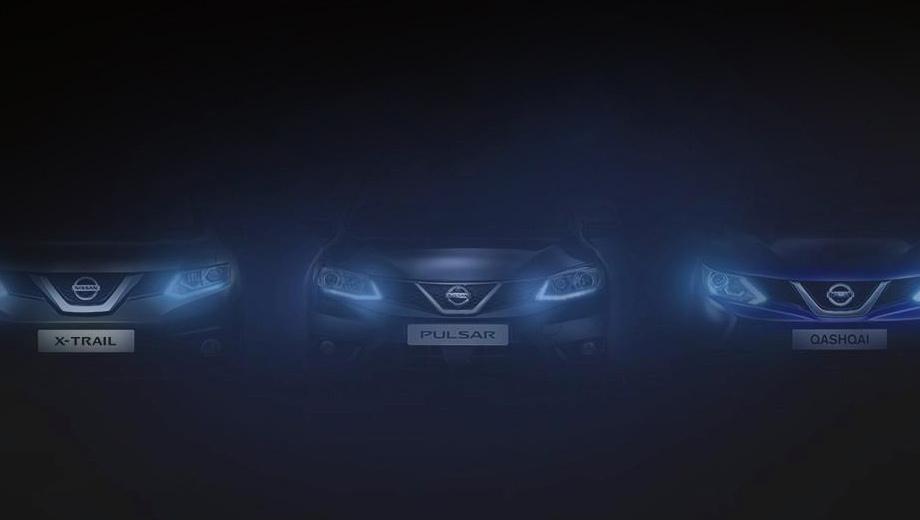 Nissan pulsar. Пока это единственное изображение, пусть и плохого качества, на котором более или менее виден автомобиль.