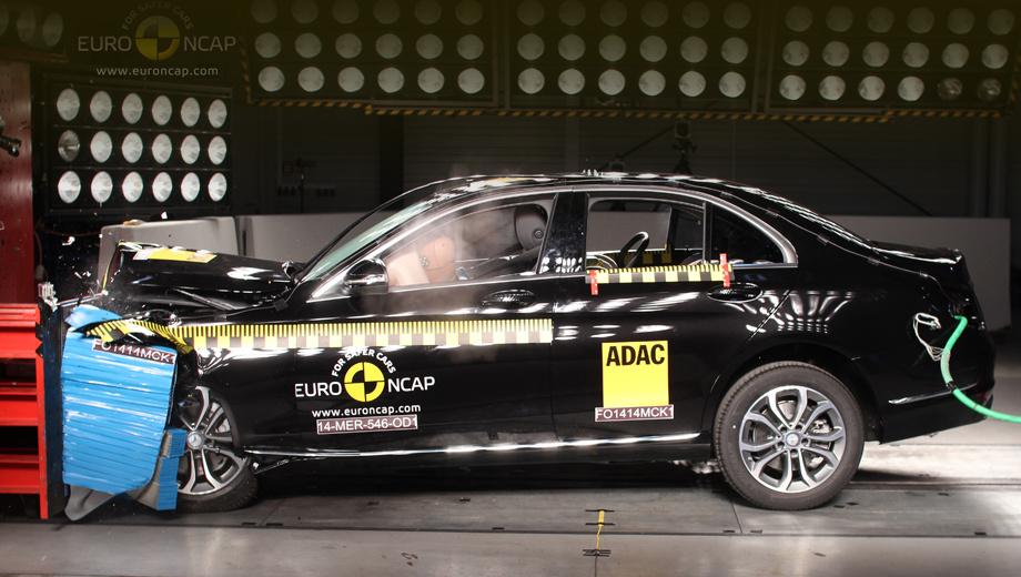 Mercedes c,Hyundai i10. Общий рейтинг «цешки» — пять звёзд — дорогого стоит, поскольку с нынешнего года требования Euro NCAP к соискателям высшей оценки были расширены.