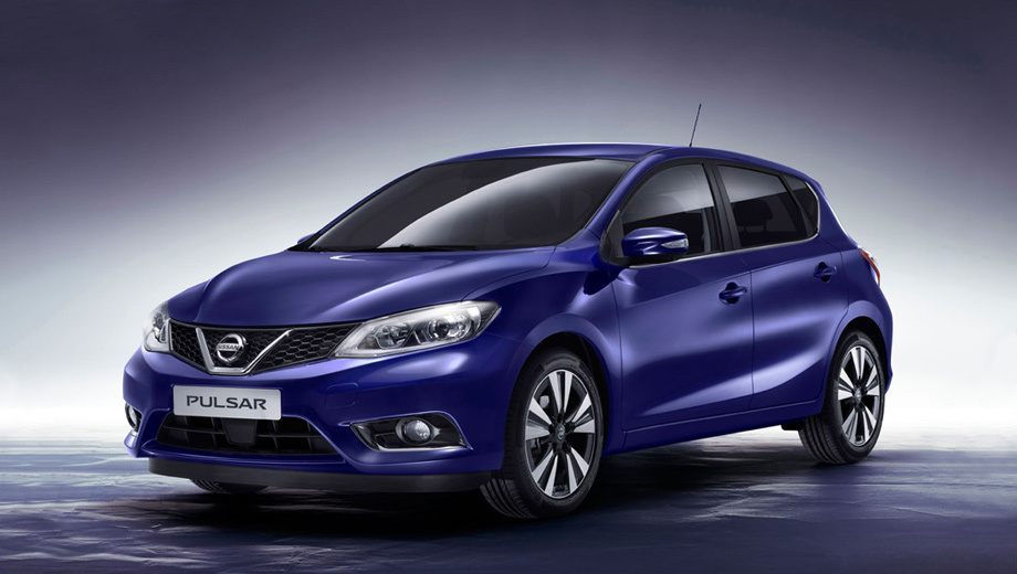 Nissan pulsar. Заявленный как конкурент бестселлерам Volkswagen Golf и Ford Focus, новый Pulsar будет производиться на заводе компании Nissan в Барселоне, а в продажу на европейском рынке поступит осенью.