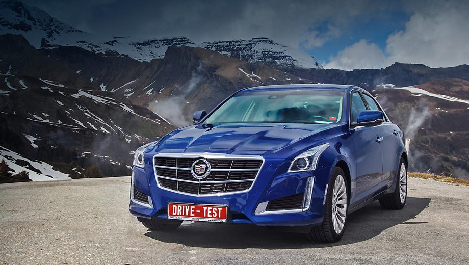 Cadillac cts. В Америке у Кадиллака есть ещё флагманский XTS, но за её пределами CTS считается главным. На него и возложена ответственная миссия завоевать Европу.