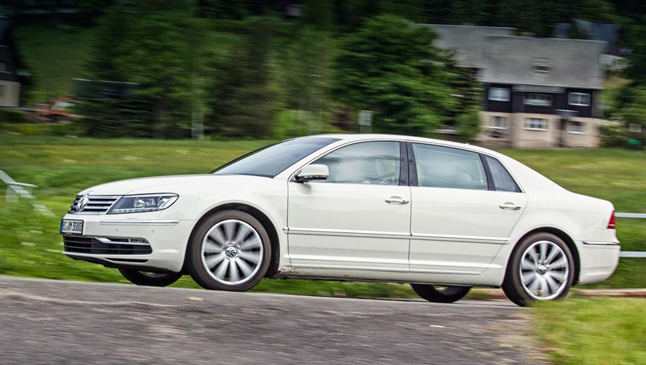 Volkswagen phaeton. Неужели спустя 11 лет с начала производства, после двух рестайлингов, машина так и не дождалась преемника?