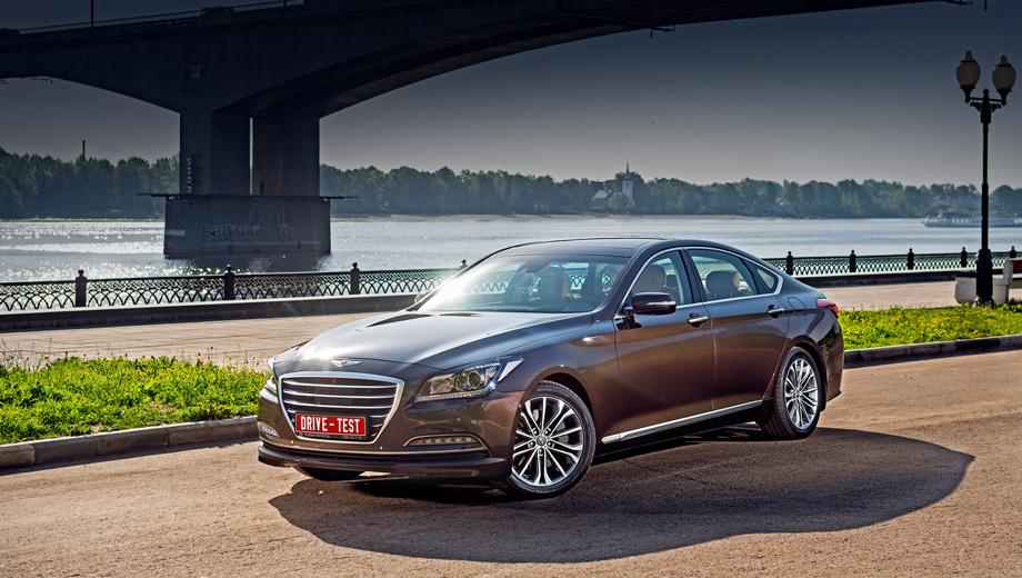 Hyundai genesis. Цены на Genesis в России начинаются с 1 859 000 рублей, за полноприводную машину просят минимум 1 959 000. Самый дорогой Genesis стоит 2 979 000 рублей. Очень выгодно в сравнении с «европейцами« и «японцами«, однако Kia Quoris крупнее, мощнее, добротнее на ходу и при этом дешевле.
