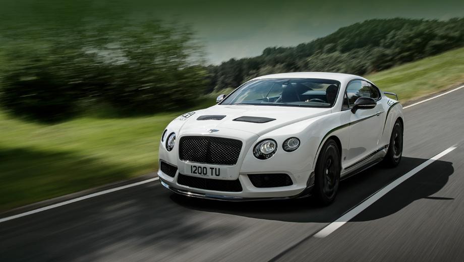 Bentley continental gt,Bentley continental gt3,Bentley continental gt3-r. Все экземпляры Continental GT3-R будут выпущены в одинаковой раскраске: основной цвет — «Ледниковый белый», чёрные углеволоконные аэродинамические элементы и зелёные полоски. Довершают образ чёрная окантовка окон и глянцево-чёрные кованые колёсные диски (21 дюйм), специально созданные для этой версии.