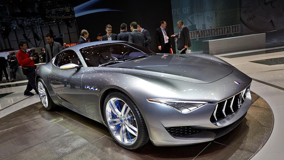 Maserati alfieri,Maserati granturismo. Как уверяет Лоренцо Рамачотти, серийный вариант купе будет практически неотличим от концепта.