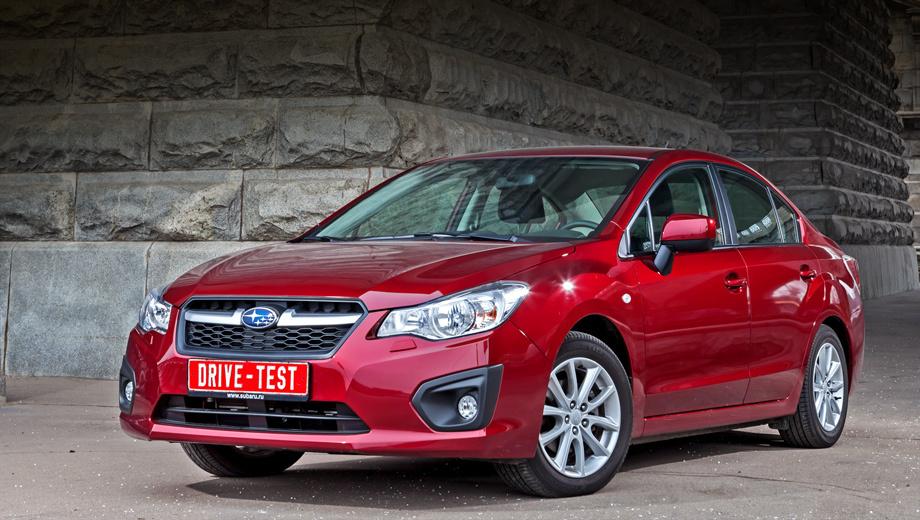 Subaru impreza. За первые пять месяцев этого года было реализовано всего 25 седанов Subaru Impreza.