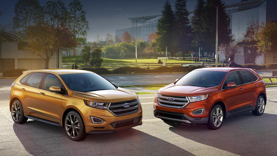Ford edge. Паркетник Ford Edge будет предлагаться как с полным, так и только с передним приводом. В Россию, скорее всего, привезут лишь полноприводный вариант.