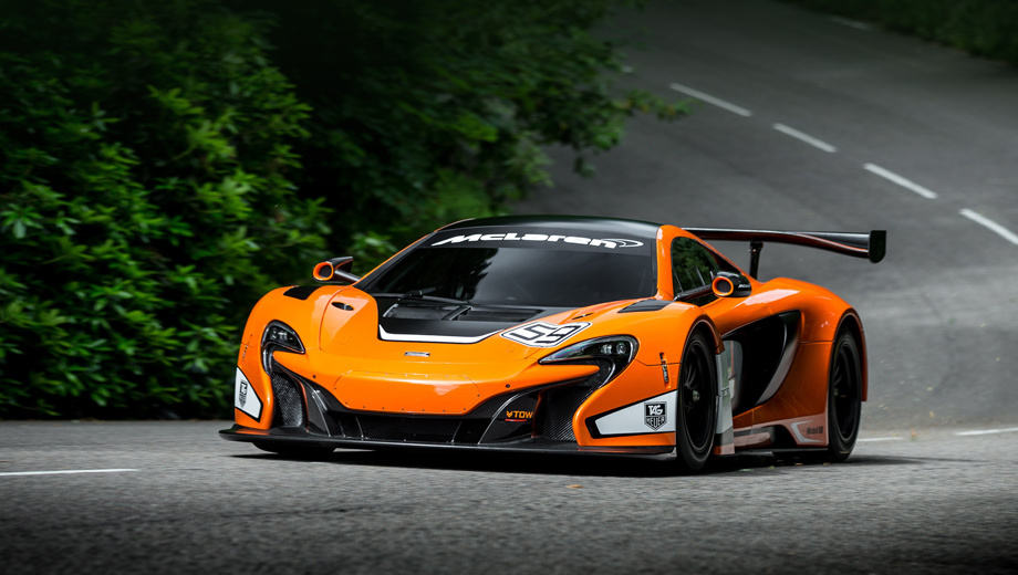 Новый McLaren 650S GT3 отличился заботой о пилотах — ДРАЙВ