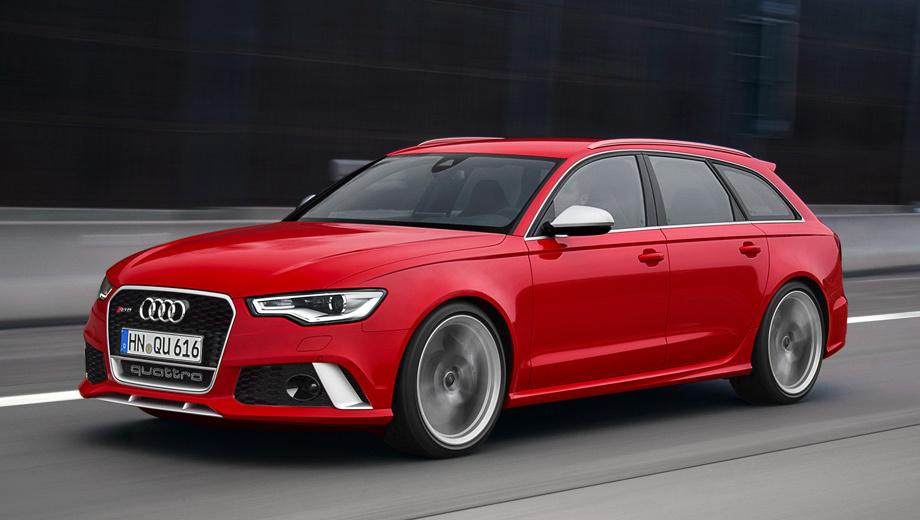 Audi rs6,Audi a6,Audi rs6 avant plus. Обычный универсал RS6 Avant появился в 2012 году. Под капотом — мотор V8 4.0 с двумя турбокомпрессорами, развивающий 560 л.с. и позволяющий пятидверке набирать первую сотню за 3,9 с.