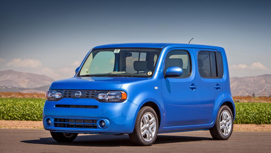 Nissan cube. За чудаковатый дизайн американцы называют Cube храбрым маленьким тостером и фанки-каром.