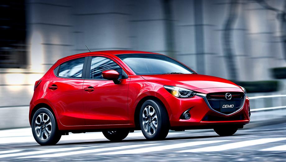 Mazda 2. Серийный вариант хэтчбека Mazda2 немного отличается от концепта, показанного весной в Женеве, но глобальных изменений не произошло.