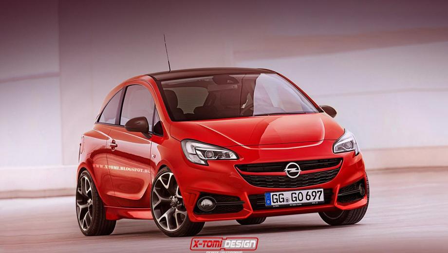 Opel corsa,Opel corsa opc. Пока никаких официальных изображений новинки нет. Перед вами рендер, подготовленный умельцами из X-Tomi Design.