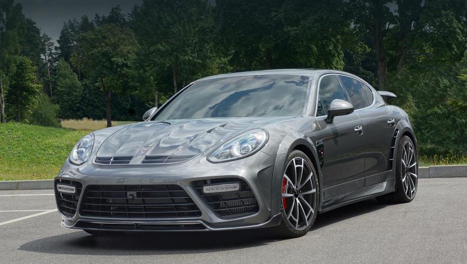Бюро Mansory не пожалело коробку хэтчбека Porsche Panamera — ДРАЙВ
