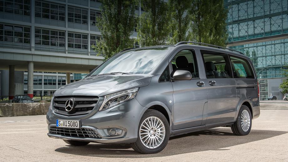 Mercedes vito. С момента выхода Vito на рынок в 1995 году по всему миру продано более 1,2 млн машин. Как и его предшественник, новый вэн производится на заводе Мерседеса в испанском городе Витория.