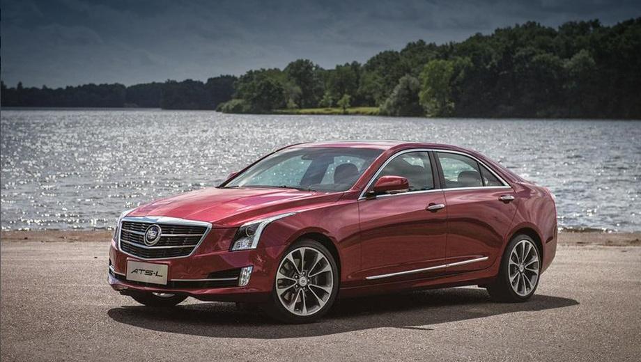 Китайцы получат растянутый седан Cadillac ATS — ДРАЙВ