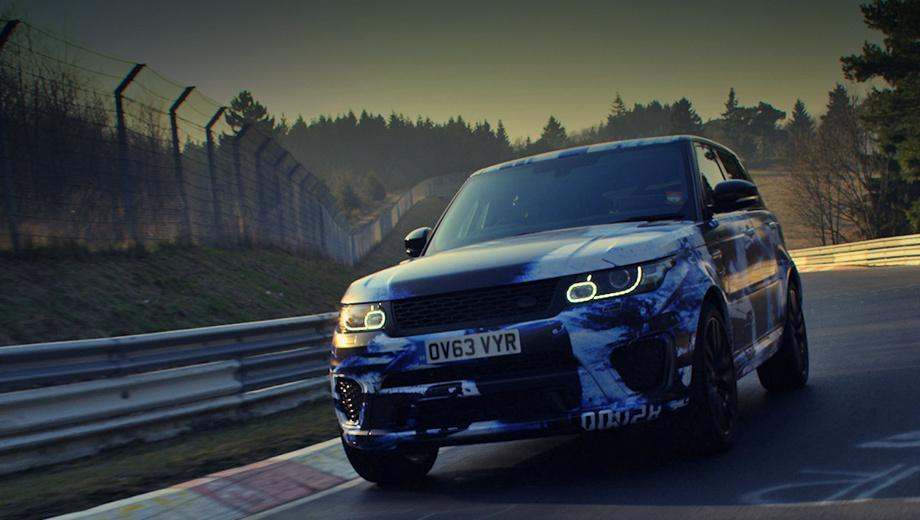 Land rover range rover sport. Паркетник Range Rover Sport SVR — первый в модельном ряду англичан автомобиль, подготовленный в недавно открывшемся отделении Jaguar Land Rover Special Vehicle Operations.