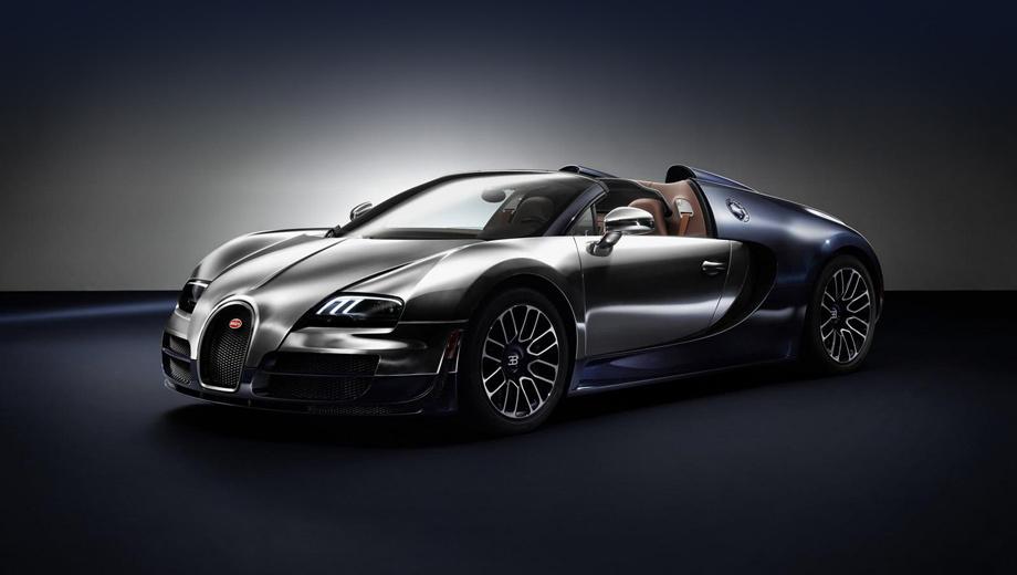 Bugatti veyron. Новинка оценена в 2,35 млн евро (это 114 млн рублей).