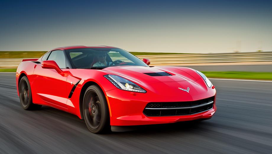 Chevrolet corvette. В США такой 466-сильный Corvette в исполнении 3LT стоит $70 000, а у нас — почти 114 тысяч. За базовую версию 2LT без навигации и с упрощённой отделкой салона просят 4 100 000 рублей.