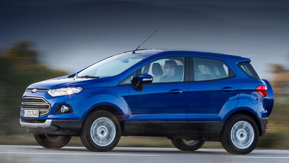 Ford ecosport. Для россиян модель EcoSport будет собирать завод Ford Sollers в Набережных Челнах.