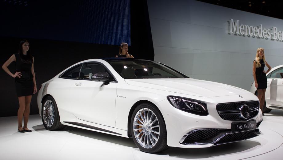 Mercedes s,Mercedes s amg,Mercedes s coupe,Mercedes s amg coupe. Мерседесовцы заявили, что отныне у них самый большой в мире портфель автомобилей с 12-цилиндровыми двигателями. Купе S 65 AMG — четвёртая по счёту модель после седана S 65 AMG, родстера SL 65 AMG и внедорожника G 65 AMG.