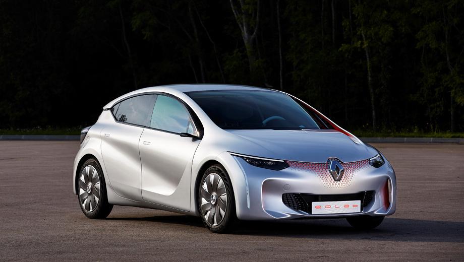 Renault eolab. Дебют концепта Renault Eolab намечен на начало октября, Парижский автосалон.