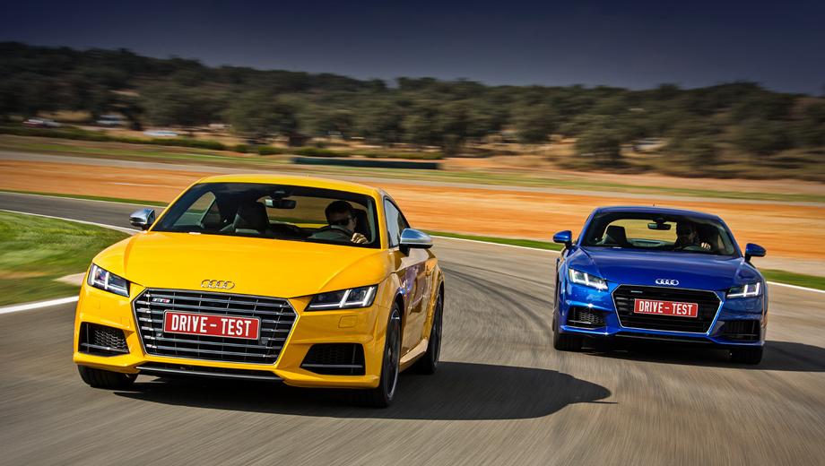 Audi tt. По задумке авторов, пропорцией фар и решётки радиатора хэтч должен напоминать Audi R8, а вертикальными светодиодами ходовых огней — лемановский прототип R18. За доплату светотехника может быть полностью светодиодной.