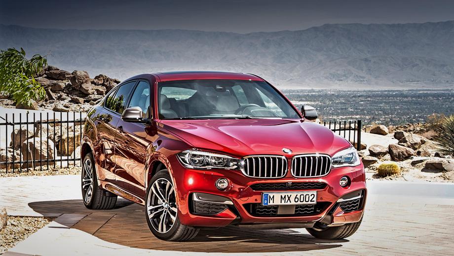 Bmw x6. Версия BMW X6 M50d по умолчанию оснащается спортивным М-пакетом, адаптивной М-подвеской с электронноуправляемыми амортизаторами и 19-дюймовыми легкосплавными дисками.