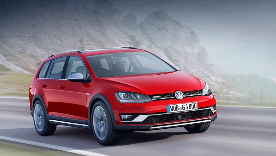 Универсал Volkswagen Golf Alltrack продолжил традицию Country — ДРАЙВ