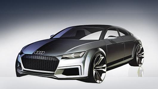 В Париже дебютирует четырёхдверная версия Audi TT — ДРАЙВ