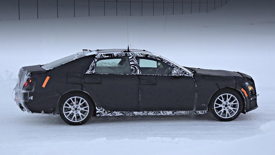 Cadillac ct6,Cadillac lts. Новинка, созданная на заднеприводной платформе Omega, встанет на конвейер завода Детройт-Хамтрамк в четвёртом квартале 2015 года. Стоить седан в США будет более $50 тысяч (1,9 млн рублей), он не заменит собой ни одну из существующих машин, а займёт новую позицию выше всех моделей.