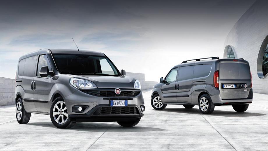 Fiat doblo. В продажу в Европе обновлённый Doblo с широкой «улыбкой» выйдет в самом начале следующего года.