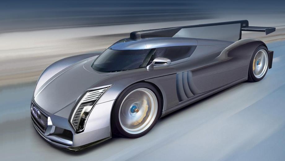 Audi r10,Lamborghini asterion. Дизайн нового купе (здесь показан эскиз Auto Motor & Sport) должен подражать лемановским прототипам, таким как Audi R18 e-tron Quattro. При этом модель будет сугубо гражданской. Ради экономии снаряжённой массы кузов будет представлять собой углепластиковый монокок.