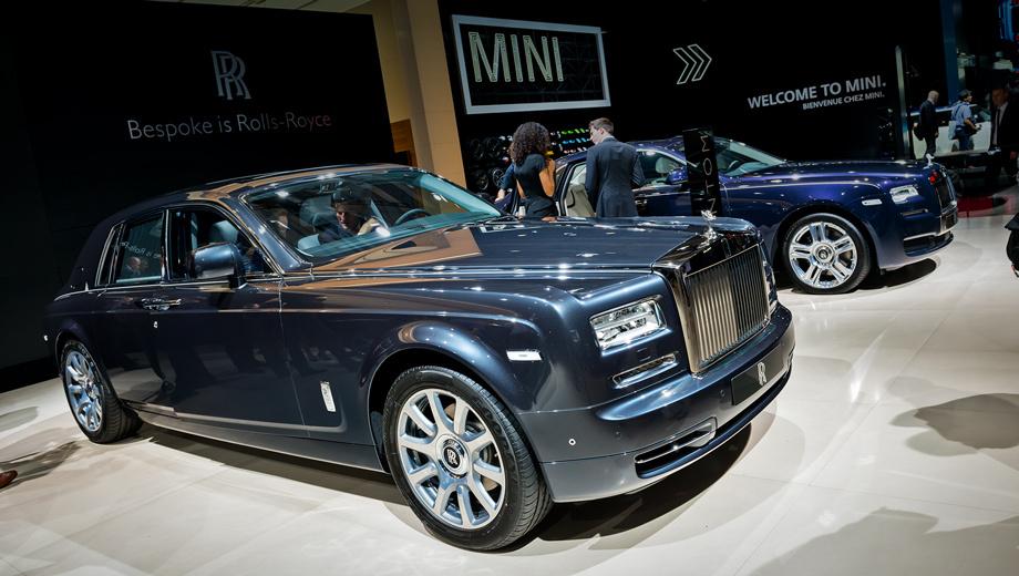 Седан Rolls-Royce Phantom уважил мегаполисы мира — ДРАЙВ