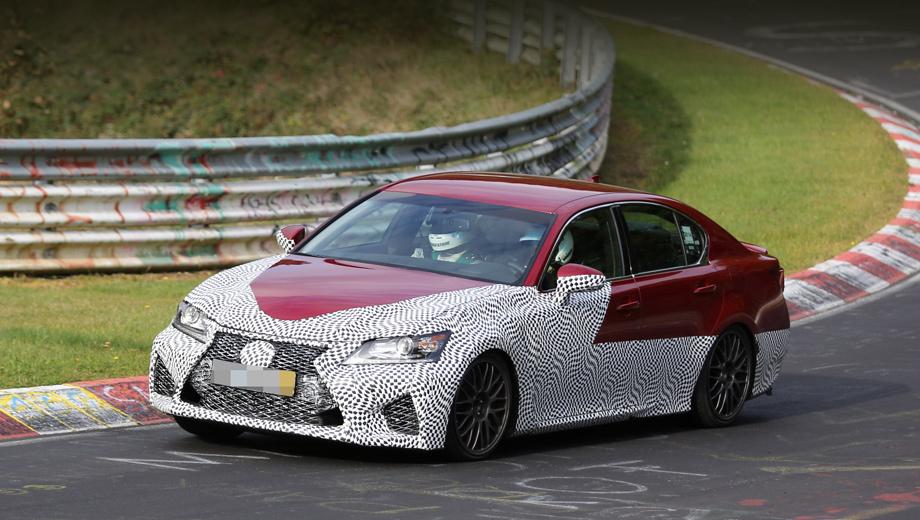 Седан Lexus GS F выйдет с мощным «атмосферником» — ДРАЙВ