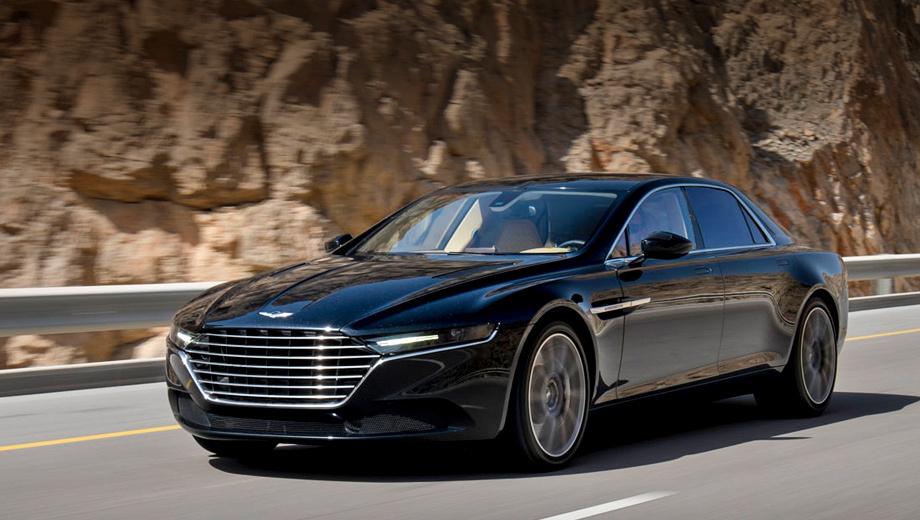 Седан Aston Martin Lagonda достанется заслуженным клиентам — ДРАЙВ