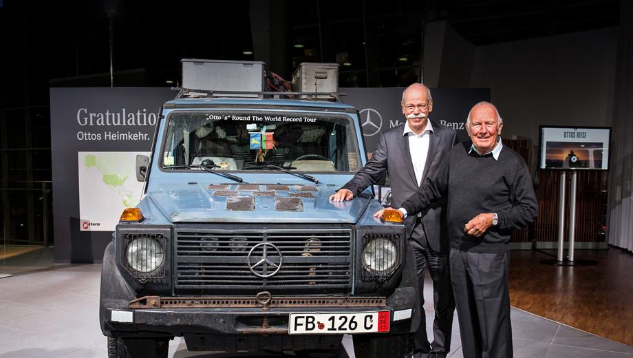 Mercedes g. Дитер Цетше, председатель совета директоров Daimler AG и глава Mercedes-Benz Cars, заявил: «Я обещаю, что модель G-класса останется. Будет ли с ней связана судьба таких героев, как Холторф? Надеюсь, да».