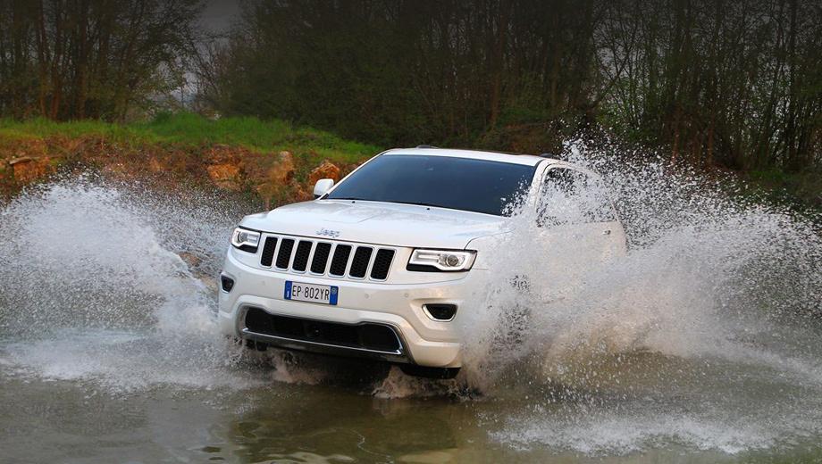 Jeep grand cherokee. Расширение линейки модификаций вниз для Grand Cherokee — козырь в борьбе с такими соперниками, как Land Rover Discovery 4 и Toyota Land Cruiser 200, чьи бензиновые версии стоят от 2755000 и 2 998 000 рублей соответственно.