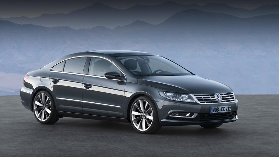 Volkswagen passat,Volkswagen passat cc. Купеобразный седан Passat CC (c 2012 модельного года — просто Volkswagen CC) появился в 2008-м, а в конце 2011-го пережил рестайлинг.
