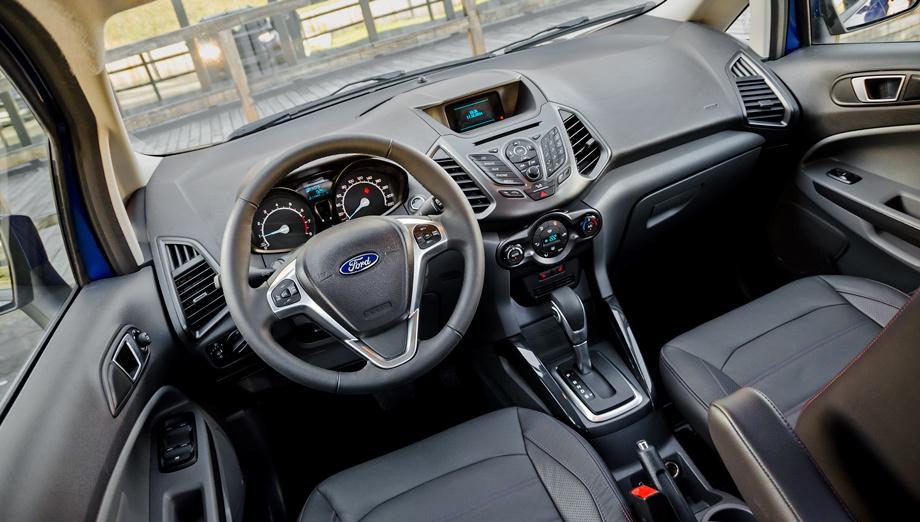 форд экоспорт картинки внутри машины