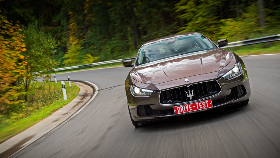 Maserati ghibli. Первый дизельный Maserati оказался достаточно быстрым и предсказуемым в управлении, но недостаточно итальянским.