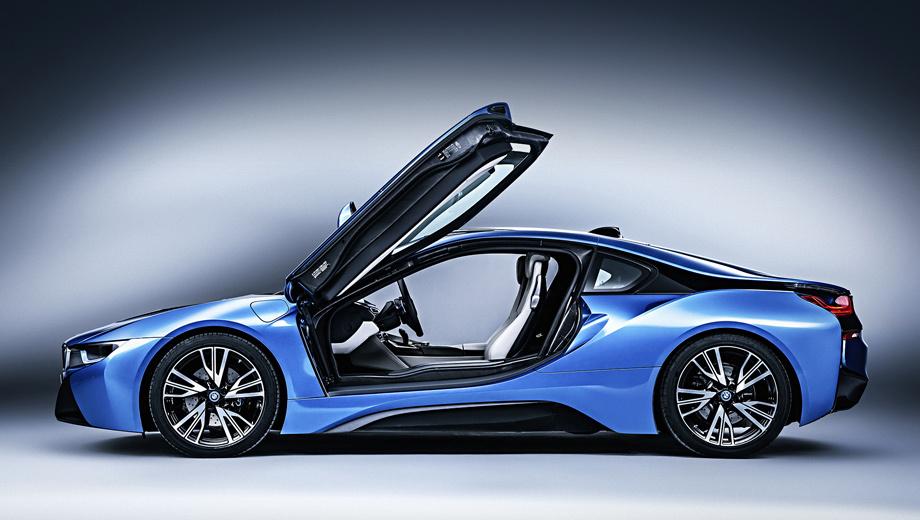 Bmw i8,Bmw i8s,Bmw i9. Внутризаводской индекс нового проекта — M100. А выйдет такая двухдверка в 2016 году — на столетний юбилей компании BMW. (На фото — купе i8 с пакетом Pure Impulse, включающим в себя все возможные для данной модели опции плюс ряд оригинальных штрихов во внешности и интерьере.)