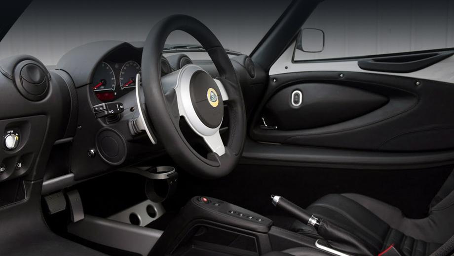 Lotus exige,Lotus exige s,Lotus exige s roadster. По уже сложившейся у марки традиции «автомат» на Эксидже управляется кнопками.