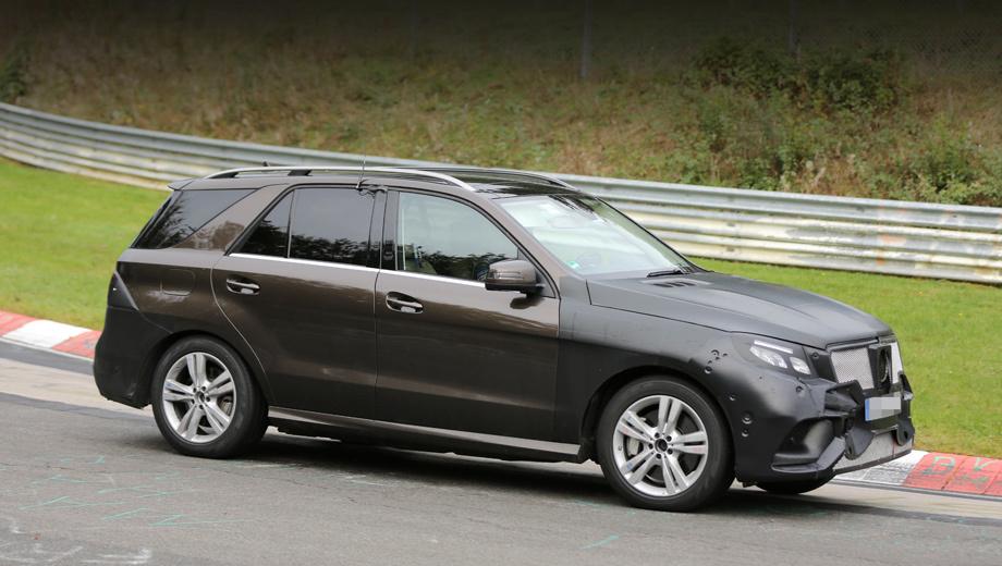Mercedes ml. По новой системе индексов ML будет переименован в GLE, но официального подтверждения этому пока нет. Паркетник выйдет на рынок в следующем году.