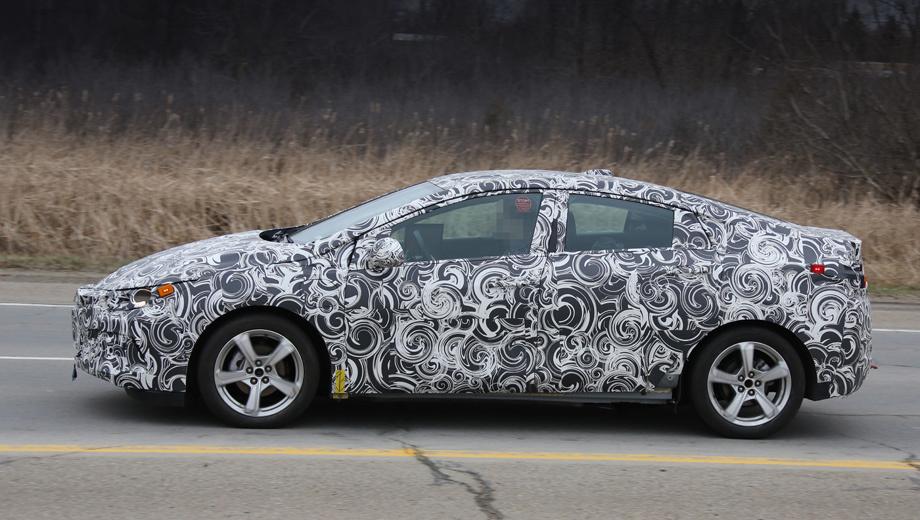 Chevrolet volt. Второе поколение хэтчбека Volt (2016 модельного года) дебютирует в январе 2015-го на автошоу в Детройте.