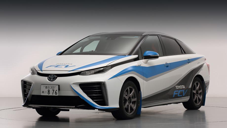 Toyota fcv,Toyota mirai. Создатели машины не уточняют, есть ли в ней иные доработки помимо облегчённых колёсных дисков, крупных брызговиков и гоночной ливреи.